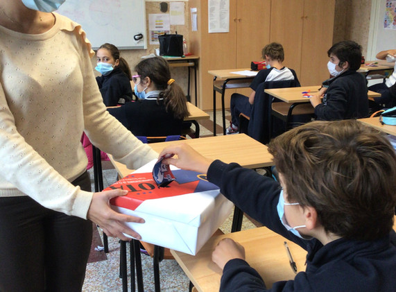 votando i rappresentati di classe