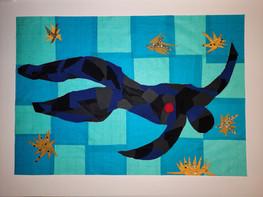 Gabriele Molteni 3^ A elaborato collage.
