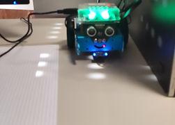 Muovere mBot con la tastiera del Computer