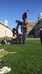 I nostri alunni durante la gita a Pisa