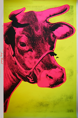Andy Warhol  COW Yellow  1966 F&S II.11