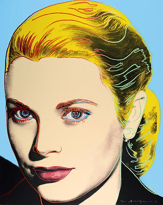 Andy Warhol GRACE KELLY