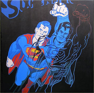 Andy Warhol SUPERMAN