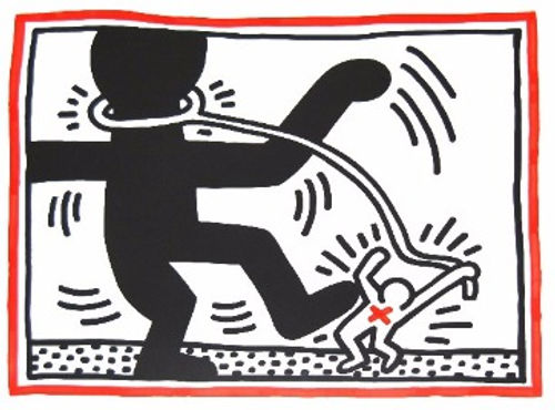 Keith Haring Free South Africa