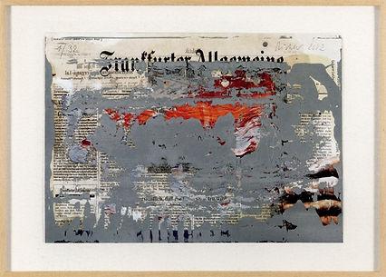 Gerhard Richter FAZ - OverPainted  2002