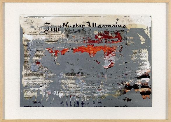 Gerhard Richter   FAZ - OverPainted