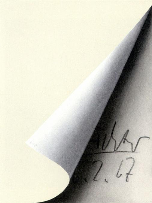 Gerhard Richter   Sheet Corner
