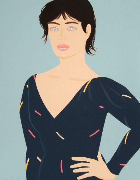 Alex Katz Grey Dress