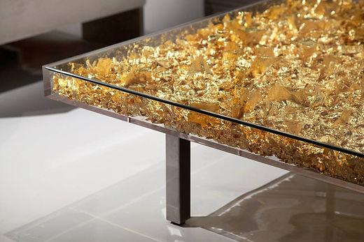 Yves Klein Table D'orGold