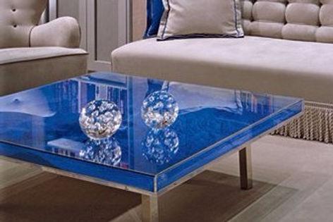 Yves Klein Table Blue