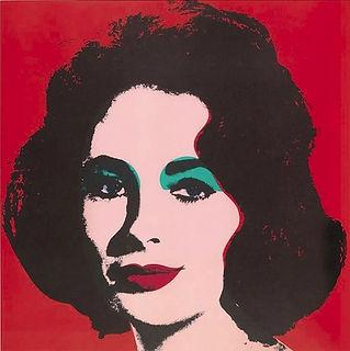 Andy Warhol LIZ  1966