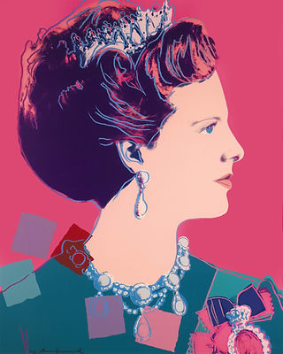 Andy Warhol QUEEN MARGRETHE