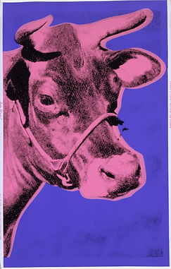 Andy Warhol COW Purple  1976