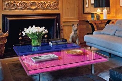 Yves Klein Table Rose