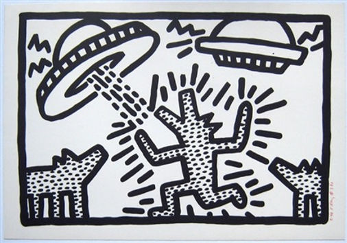 Keith Haring Untitled  #4