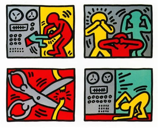 Keith Haring POP Shop Quad III