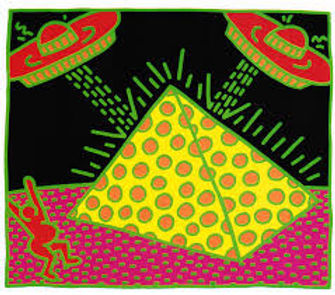 Keith Haring FERTILITY II