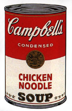 Andy Warhol CHICKEN NOODLE