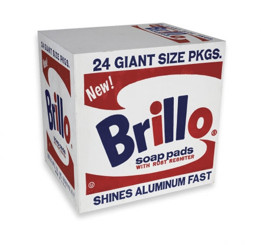 Andy Warhol Brillo Soap Pads Box