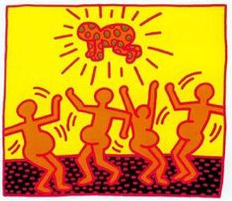 Keith Haring FERTILITY I