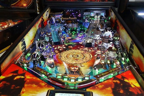 Pirates of the Caribbean MirrorBladez Jersey Jack Pinball