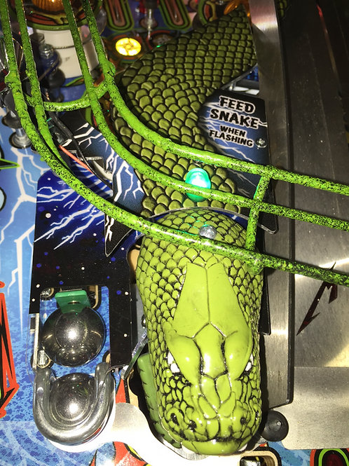 Metallica Snake Mod for Stern Pinball Machine