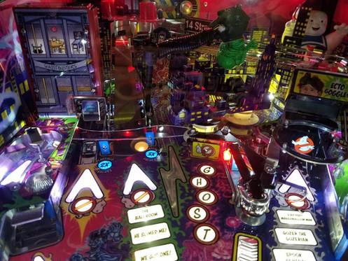 Ghostbusters Pinball Premium/LE Airball Deflector CLEAR - Stern Pinball