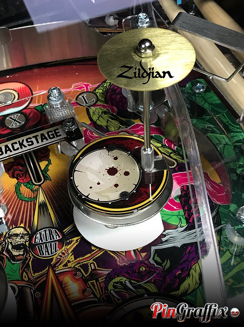 Guns N' Roses Cymbal Decals