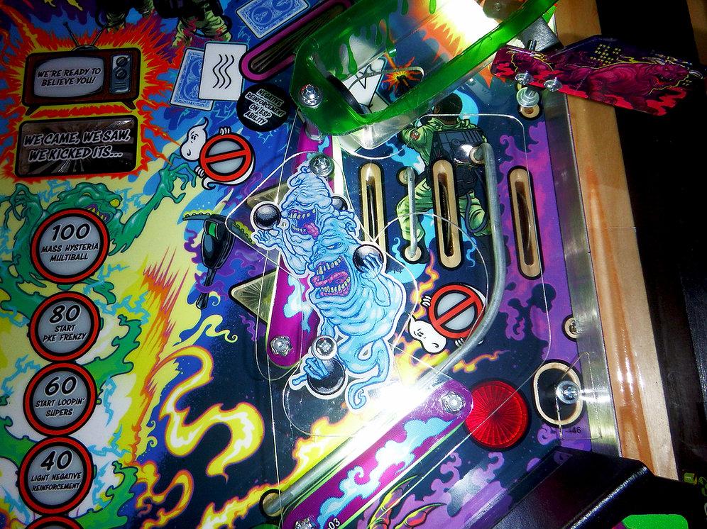 Ghostbusters Pinball Sling Guard Set for Stern Pinball