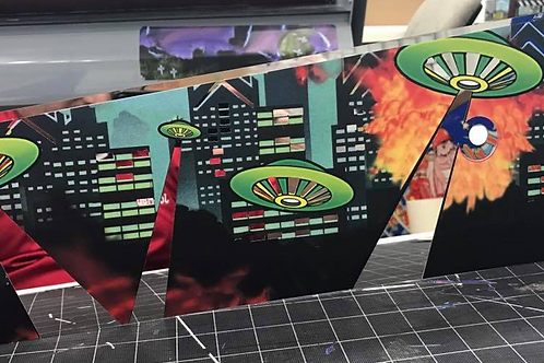 Attack From Mars Pinball MirrorBladez™™- Bally/Williams Pinball