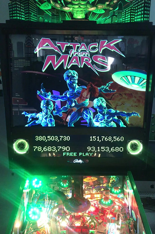 Attack From Mars PowerTranslite™ - Bally/Williams Pinball