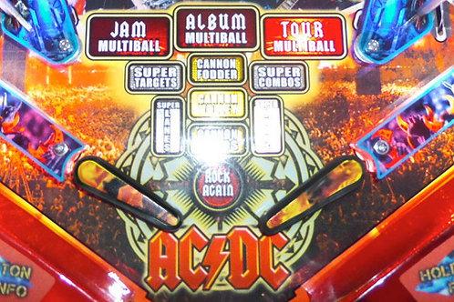 AC/DC Flaming Hot Flipper Flames
