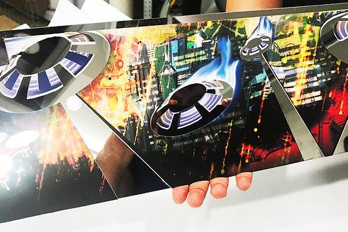 Dialed In Pinball Mirror BladeSkinz - Jersey Jack Pinball