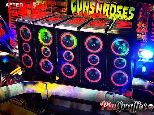 JJP Guns N' Roses Speaker Bank Kit