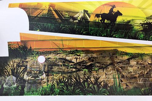 Indiana Jones Pinball Inner Art PinBlades™ - Bally/Williams