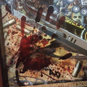 The Walking Dead Pinball By Stern Bloody Hands