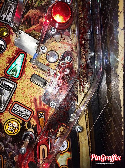 Stern-The Walking Dead Pinball - Ramp Splater Decals