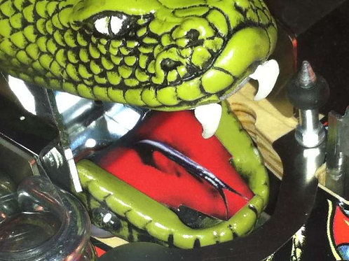 Metallica Snake Mouth Decal