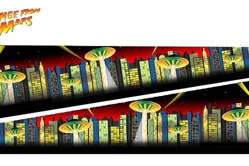 Revenge From Mars® Pinball Inner Art PinBlades™ - Bally/Williams