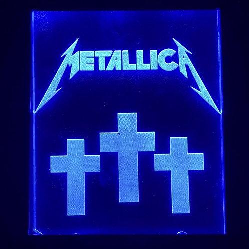 Metallica Pin Plate Coin Door Mod