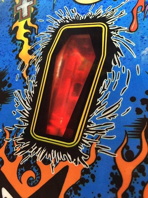 Stern Metallica Pinball Pro/Prem/LE Coffin Overlay