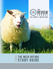 The Review Course - The Week Before Study Guide