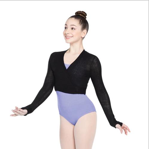 Ballet Wrap Sweater
