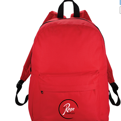 Rage Logo'd Back Pack