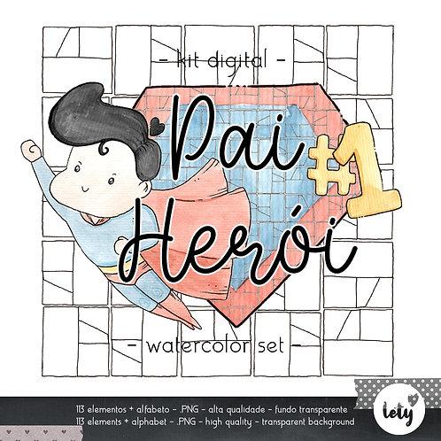 Kit Digital Pai Herói