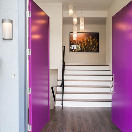 Purple Doors?!