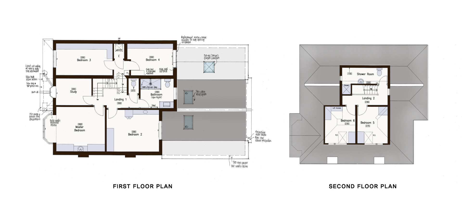 04 First and Second Floor Plan.JPG