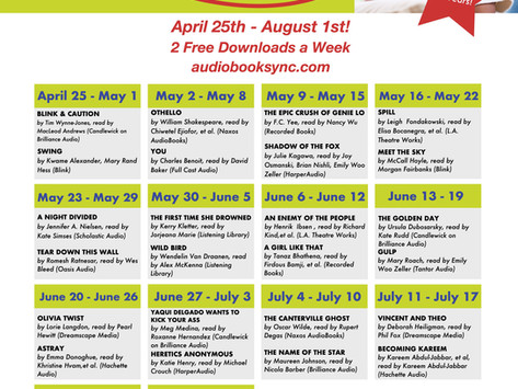Friday Five: Summer of SYNC Audiobooks