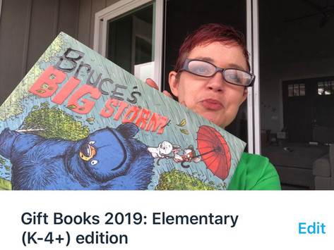 Friday Five: Gift Books: Elementary edition