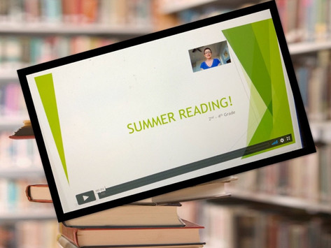Are You Summer Reading Ready? Part 1...